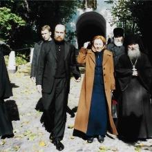 На поклонении Святыням с Людмилой Путиной