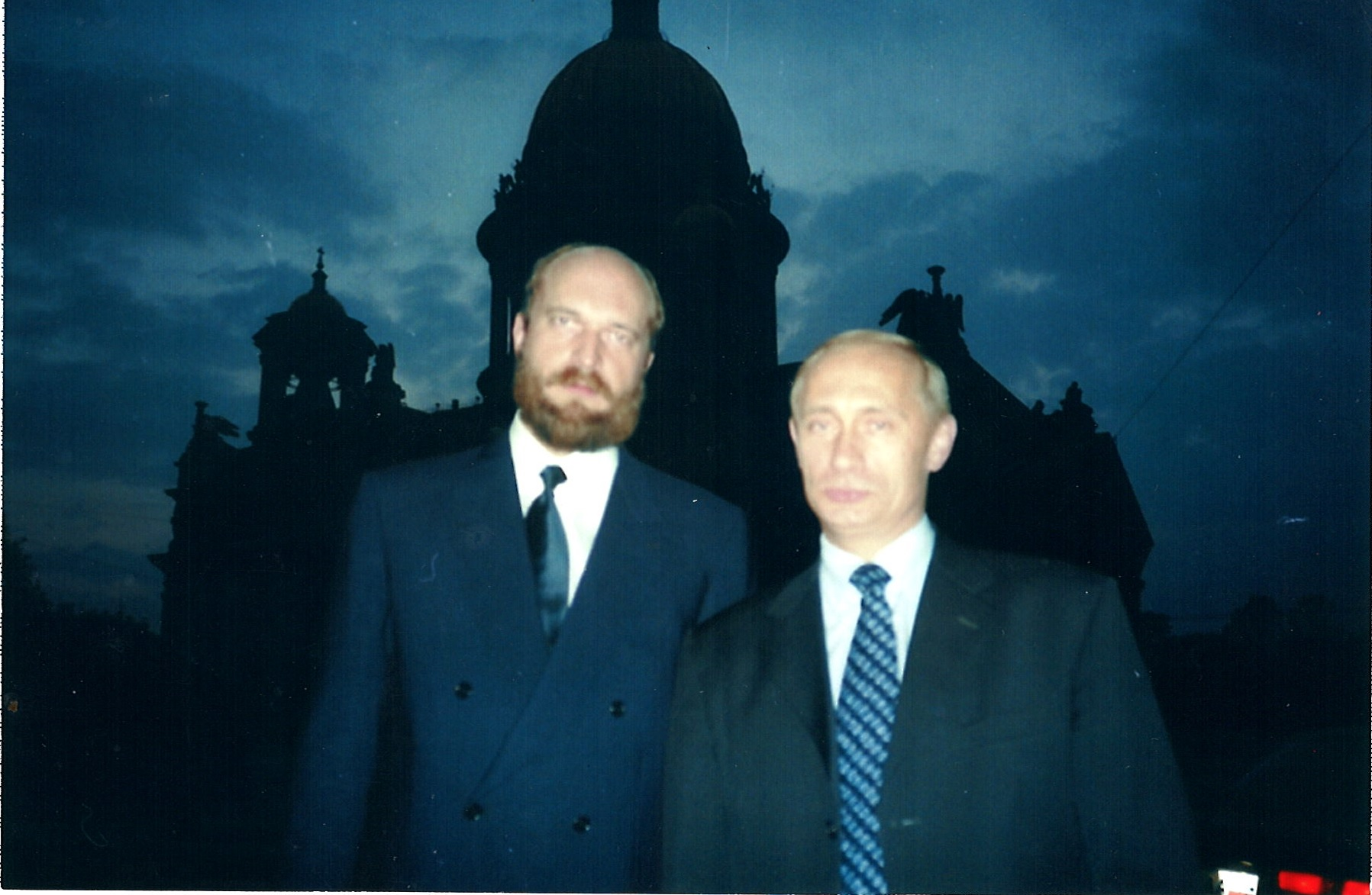 With Putin on ancestral homeland